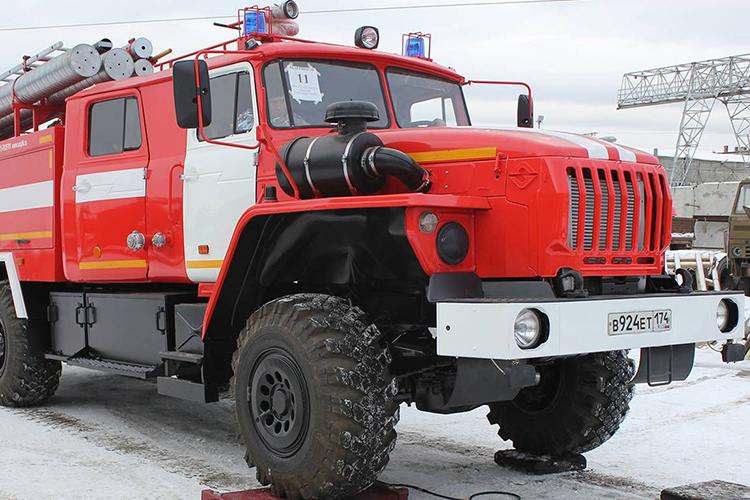 Пожарный автомобиль УРАЛ-4320