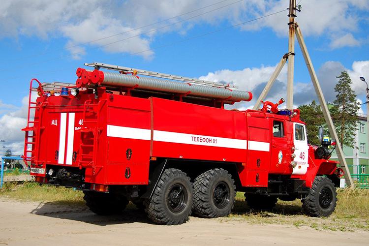Пожарный автомобиль УРАЛ-4320 АЦ-8.0