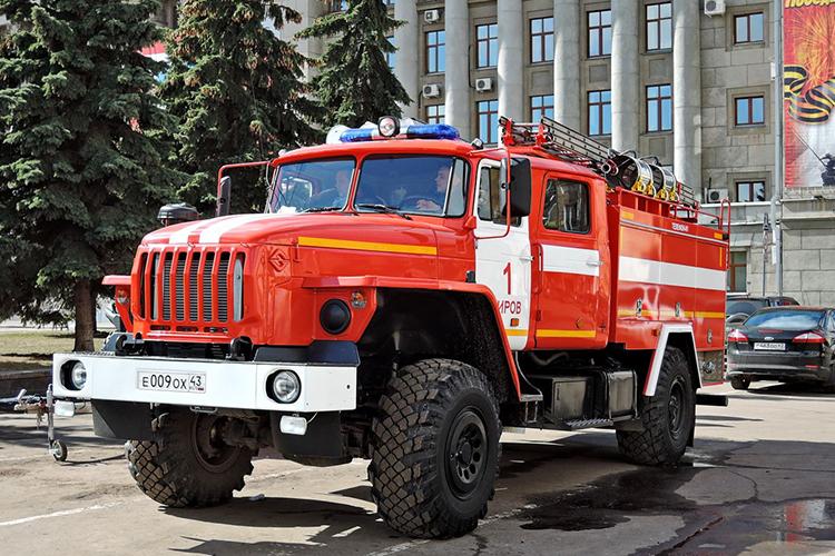Пожарный автомобиль УРАЛ-43206