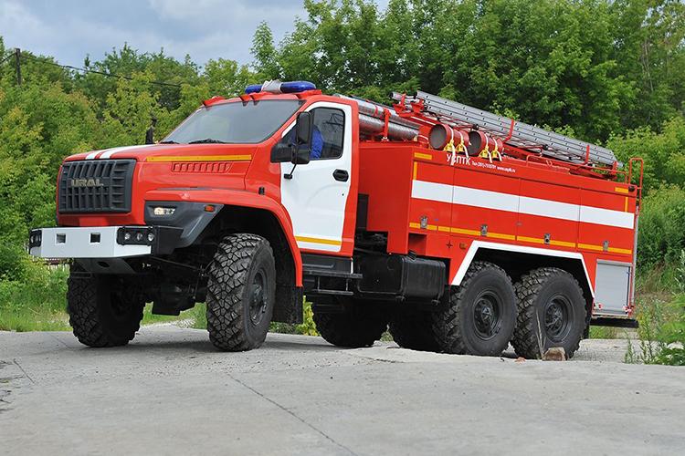 Пожарный автомобиль УРАЛ-5557