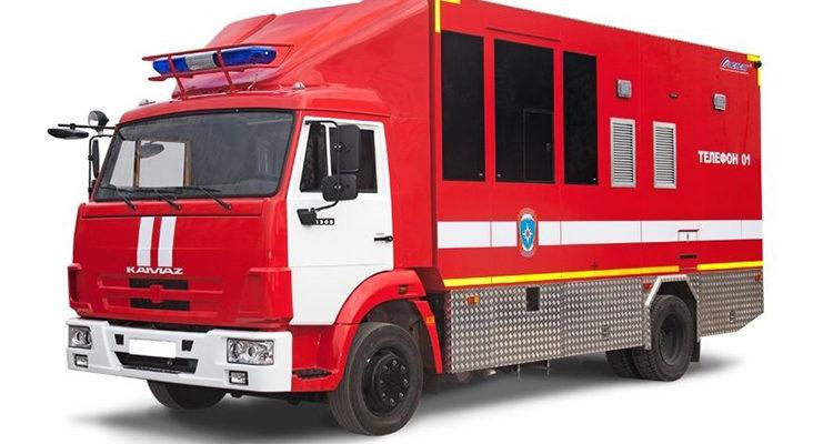 Пожарный газодымозащитный автомобиль