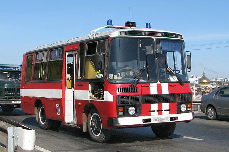 АГ-12 на базе автобуса ПАЗ -3205