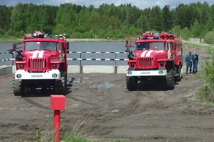 Подъездные пути для пожарного автомобиля  к источнику воды