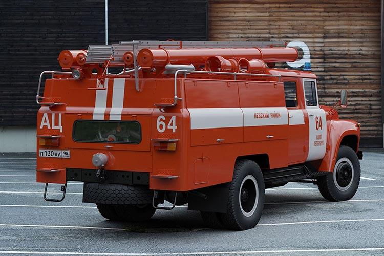 Типовая схема обозначения пожарных автомобилей