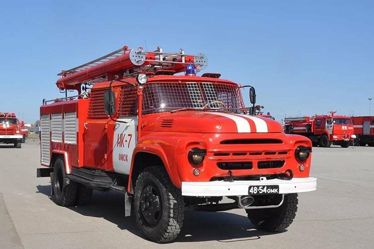 Маркировка пожарных автомобилей