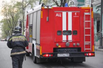 Проезд пожарной машины