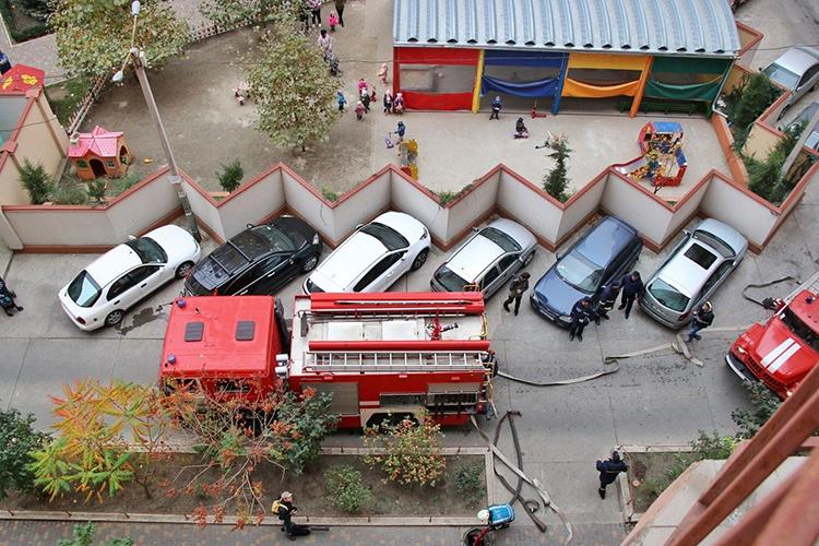 Проезд пожарной машины - как осуществляется