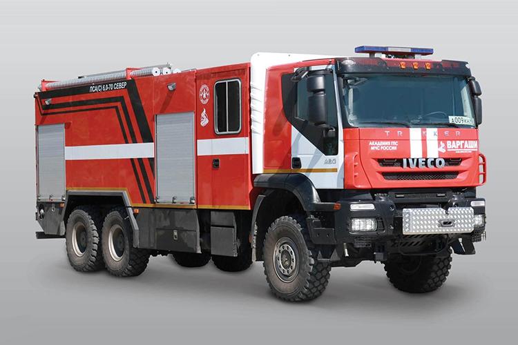 Пожарная машина IVECO-АМТ