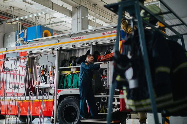 Порядок содержания пожарных машин