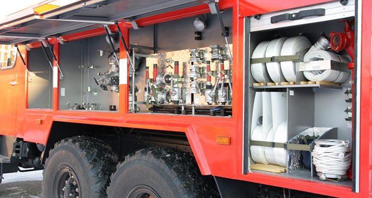 ПТВ пожарного автомобиля
