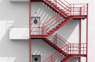 Высота пожарной лестницы