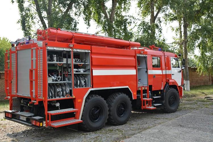 Характеристики пожарных автоцистерн