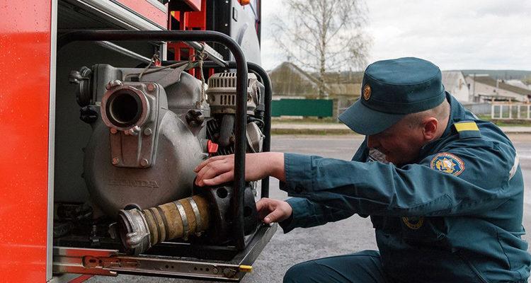 Диагностика пожарных автомобилей