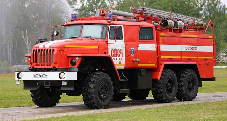 Шасси пожарных автомобилей