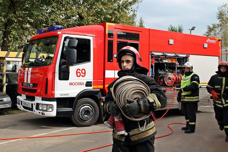 Использование пожарной техники на пожаре