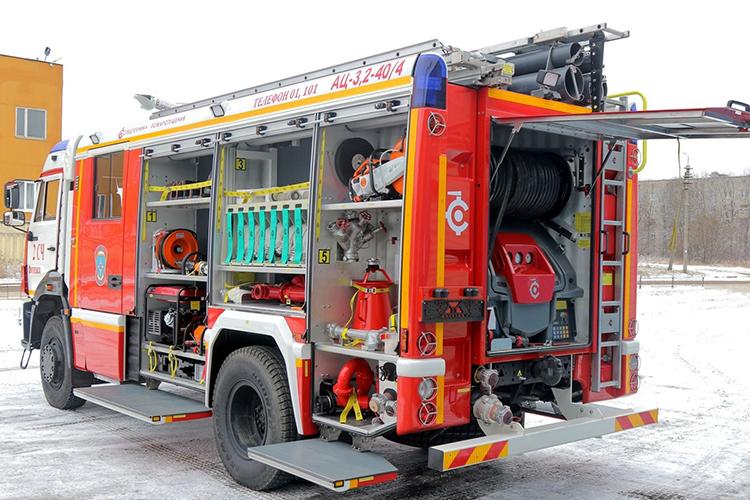 Подготовка пожарной техники к использованию