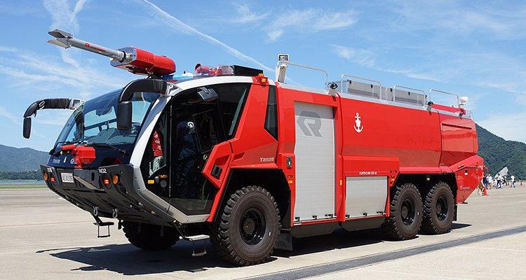 Пожарная техника Rosenbauer