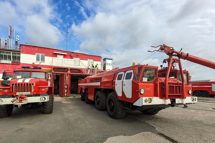 Пожарный МАЗ 7310 АА-60