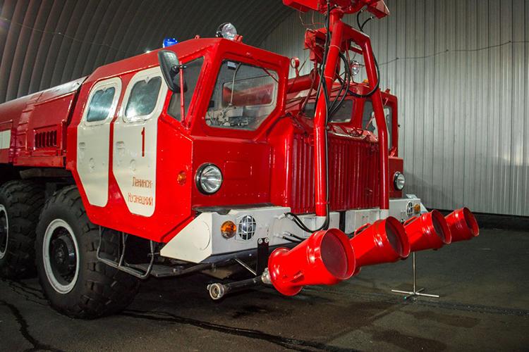 Модификации пожарного МАЗ 7310 АА-60