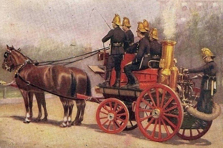 Пожарная охрана в 18 в