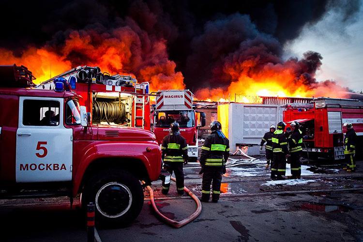 Этапы боевых действий по тушению пожаров