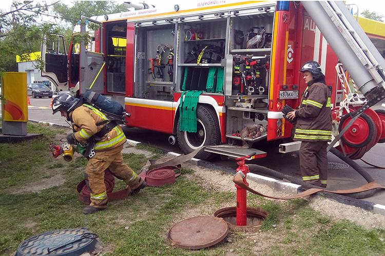 Основные средства для тушения пожаров