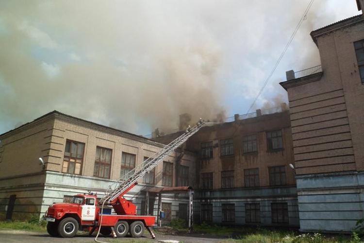 Прогноз развития пожара