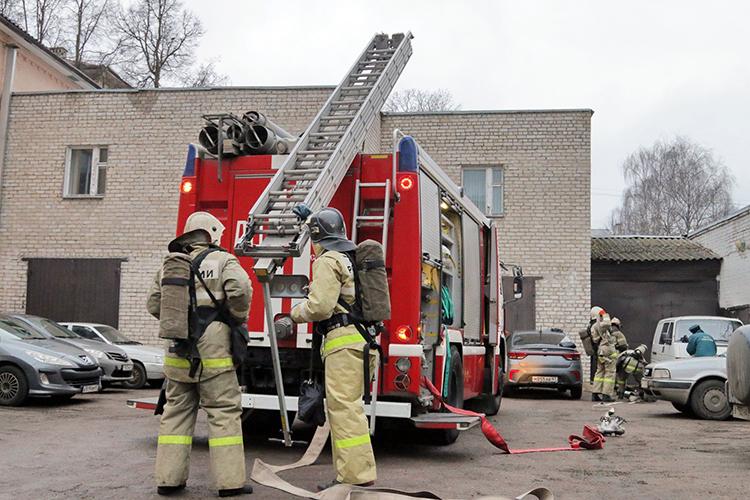 Особенности тушения пожаров в школах