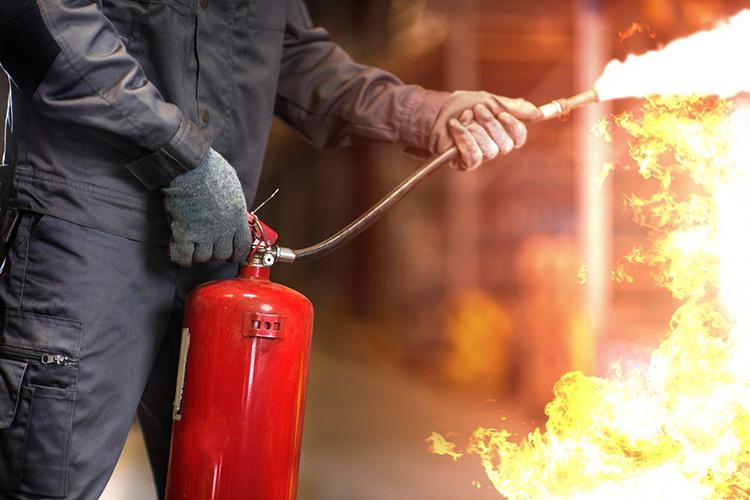 Общие положения расчета площади тушения огнетушителем