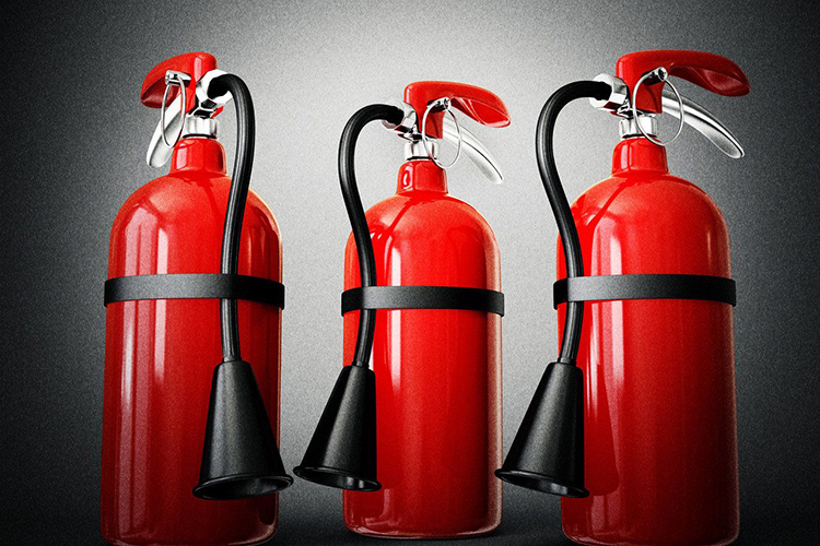 Определение количества огнетушителей по площади