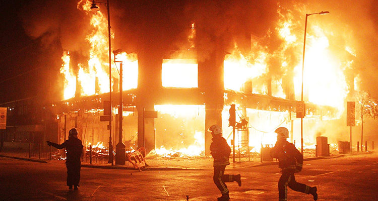 Вторичные факторы пожара
