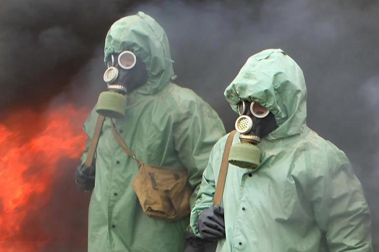 Выделение радиоактивных и токсичных компонентов во время пожара