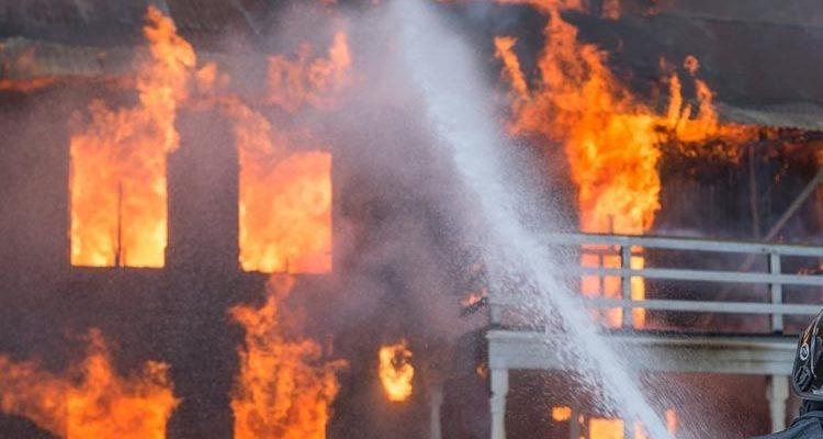 Алгоритм действий при пожаре в школе