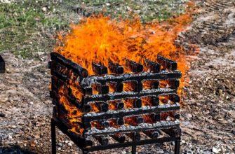Модельный очаг пожара