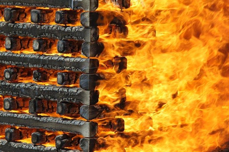 Модельный очаг пожара - характеристики