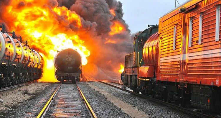 Действия локомотивной бригады при пожаре