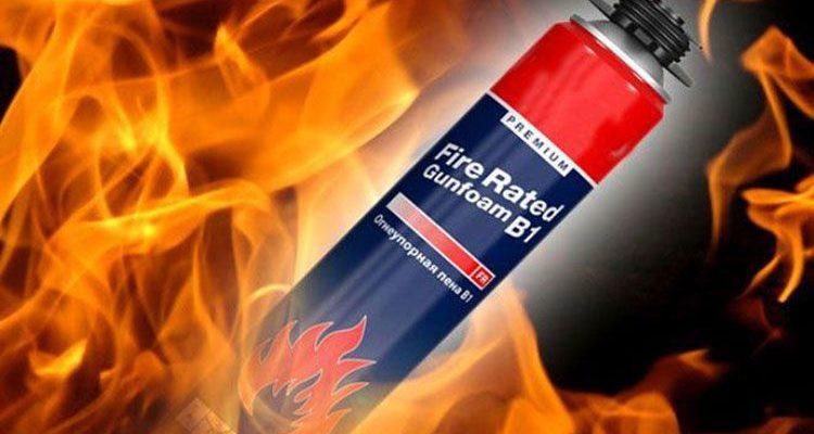 Огнестойкая противопожарная пена