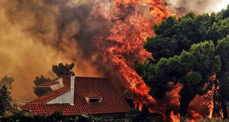 Температура пожара при горении