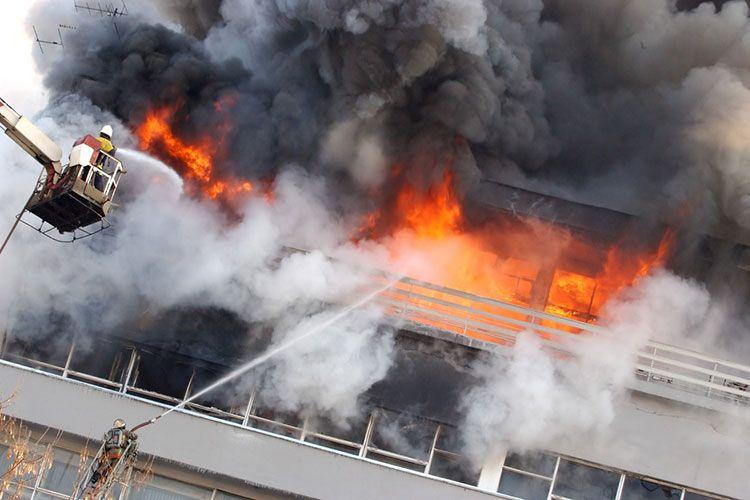 Пожар в помещении