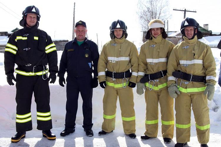 Боевка пожарных