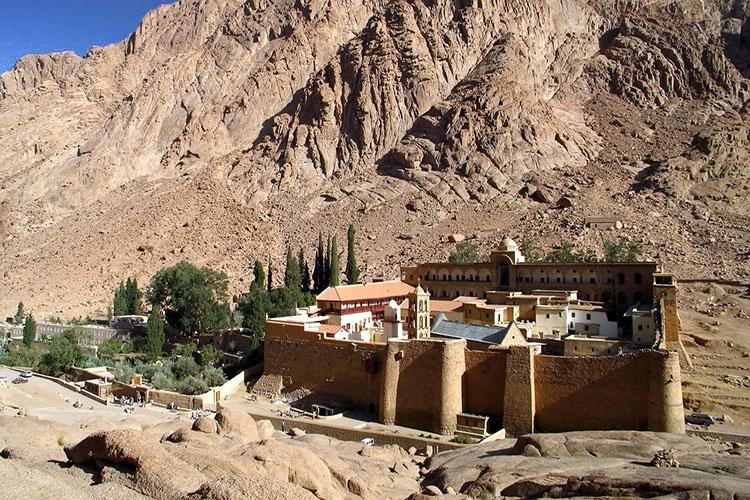 Монастырь св. Екатерины у Синая