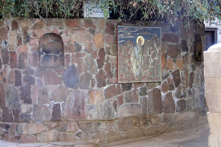 """""""Неопалимая купина"""" в синайском монастыре"""
