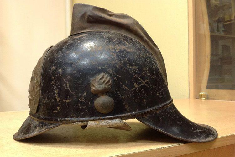 Первые каски пожарных СССР
