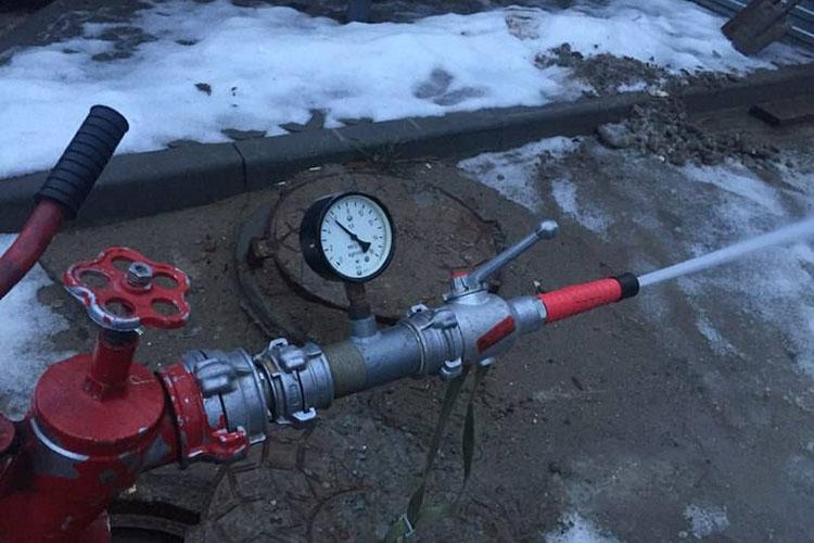 Проверка пожарных стволов