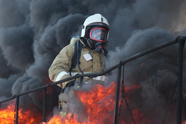 Работа на пожаре