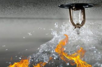 Спринклерное водяное пожаротушение