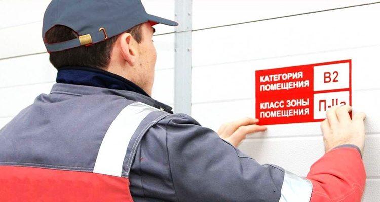 Категорийность помещений по пожарной безопасности
