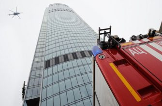 Разделение здания на пожарные отсеки