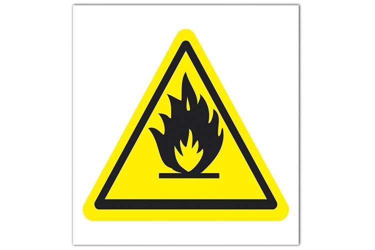 Знаки пожбезопасности желтого цвета