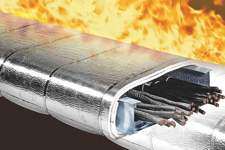Огнезащита кабелей